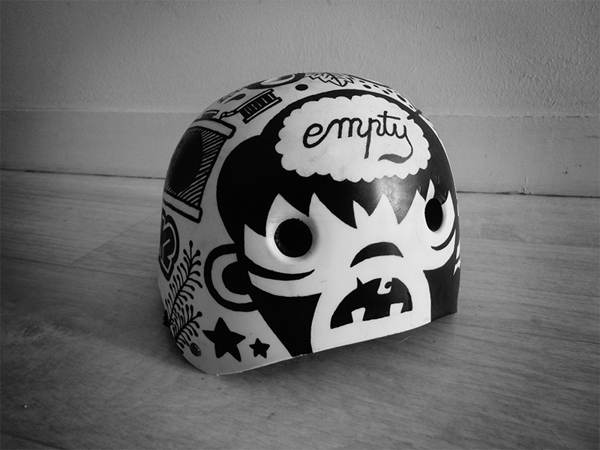 Bobby the kid BIKE HELMET ams design blog _001