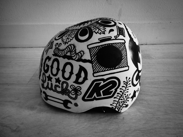 Bobby the kid BIKE HELMET ams design blog _002
