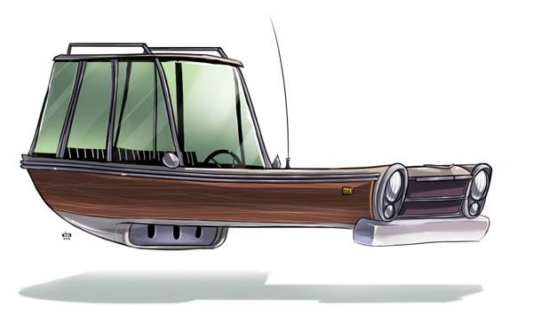 Ido Yehimovitz art car drawings Ze Future _005
