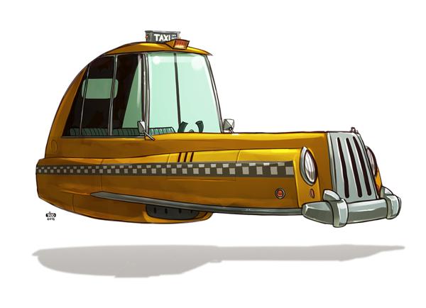Ido Yehimovitz art car drawings Ze Future _007