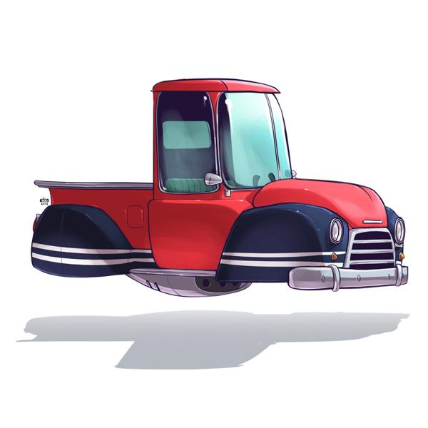 Ido Yehimovitz art car drawings Ze Future _008