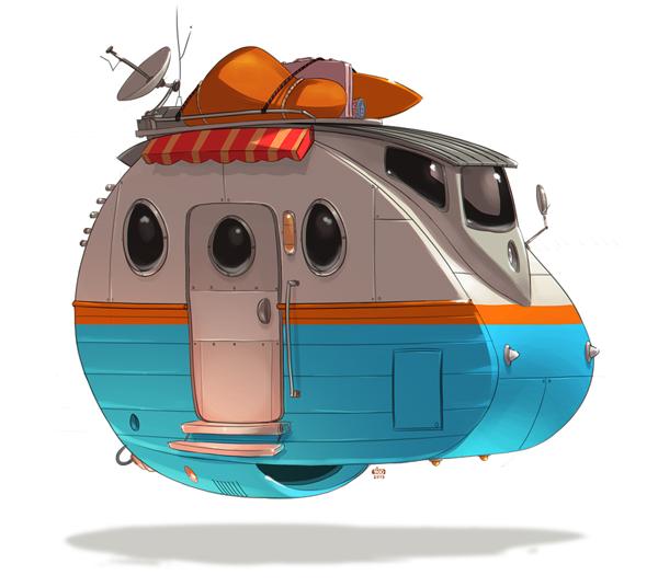 Ido Yehimovitz art car drawings Ze Future _011