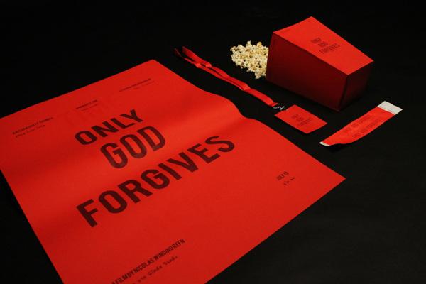 Joel Burden Only God Forgives promotional material design _000
