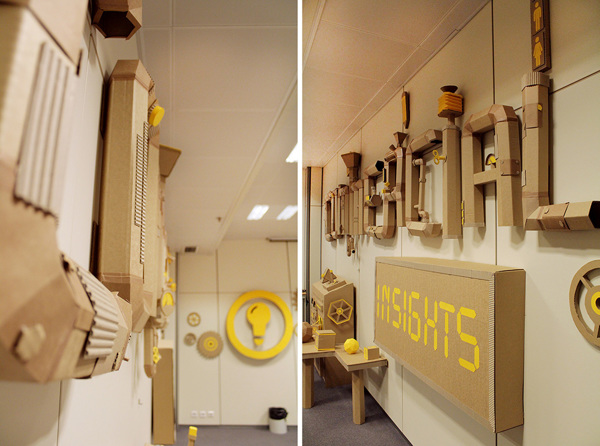 Oupas Design Creative Machines cardboard exhibition design _001
