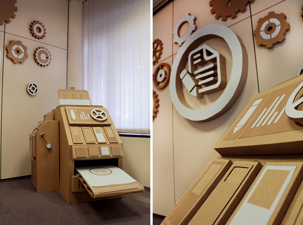 Oupas Design Creative Machines cardboard exhibition design _015