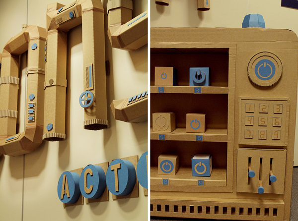 Oupas Design Creative Machines cardboard exhibition design _019