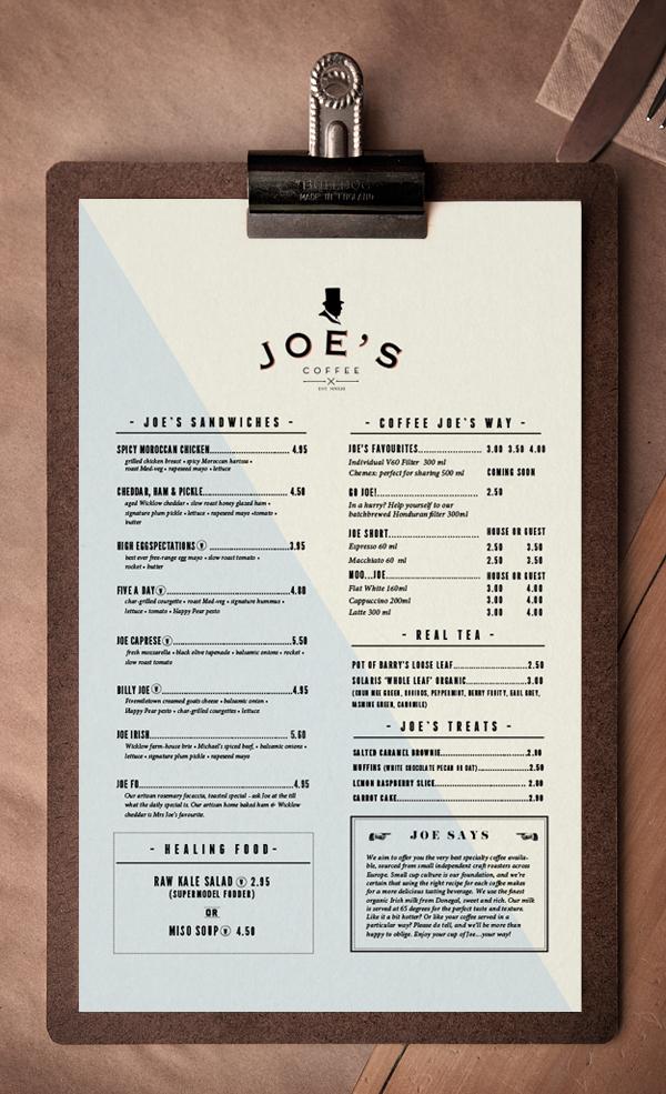 Trevor Finnegan Joe's Coffee branding design _002