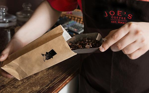 Trevor Finnegan Joe's Coffee branding design _009