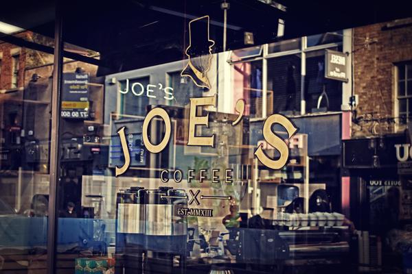 Trevor Finnegan Joe's Coffee branding design _014