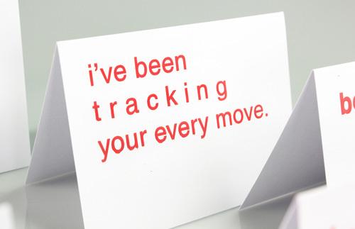 Typographic Valentines trypography card design _001