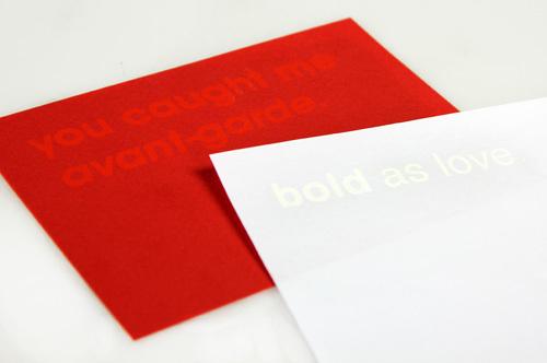 Typographic Valentines trypography card design _004