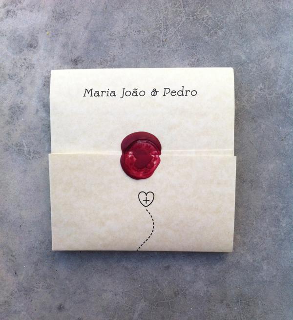 Susana Antão Maria João & Pedro wedding invitation design _000