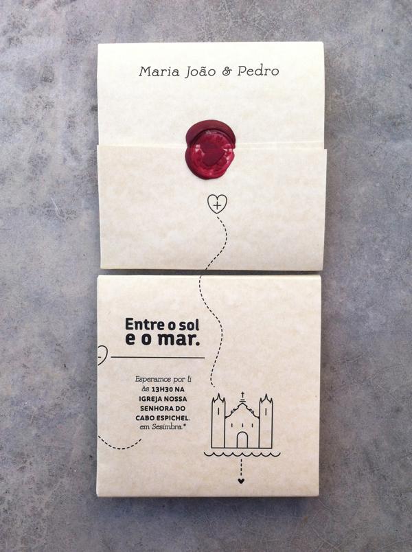Susana Antão Maria João & Pedro wedding invitation design _002