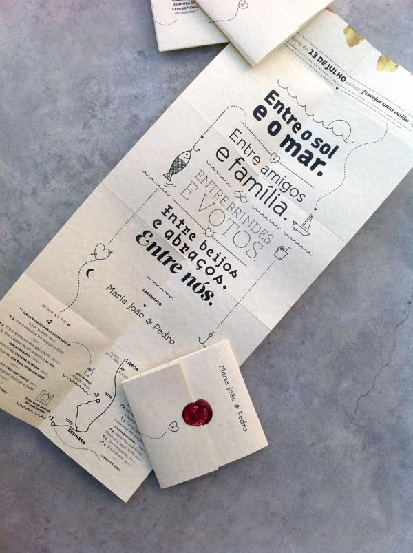 Susana Antão Maria João & Pedro wedding invitation design _006