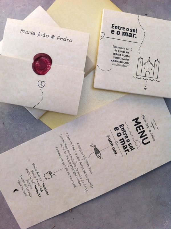 Susana Antão Maria João & Pedro wedding invitation design _009