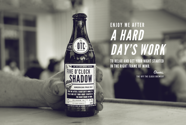 Off The Clock Brewing Company branding design by jj miller _015