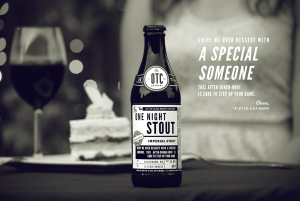 Off The Clock Brewing Company branding design by jj miller _016