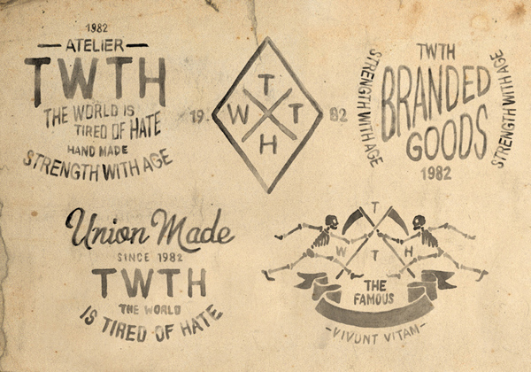 TWTH atelier by bmd design typography _001