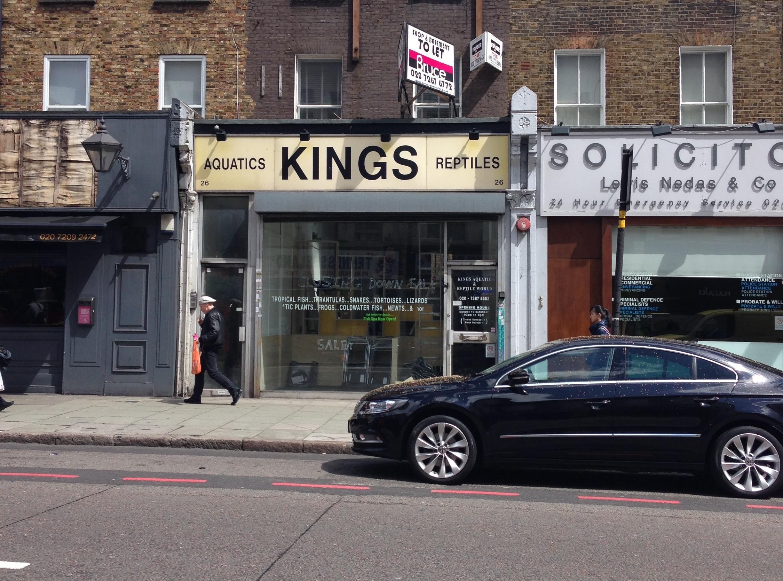 AMS Design Studio Camden High Street Office 01