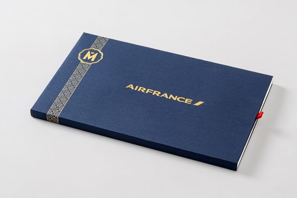 Marou Chocolate for Air France rice creative packaging design _000