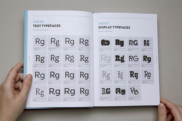 The HVD Fonts Type Book layout ams design blog_004