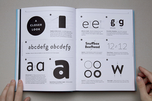 The HVD Fonts Type Book layout ams design blog_007