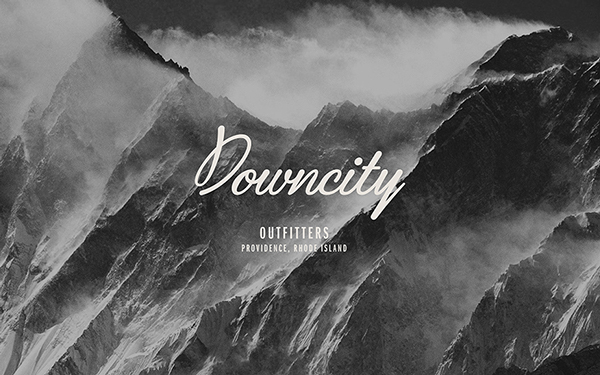 downcity outfitters Identity Branding ams design blog