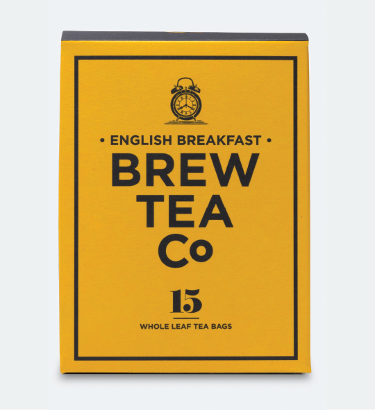 interabang brew tea co packaging and Branding