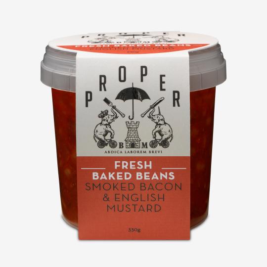 interabang proper beans packaging and Branding