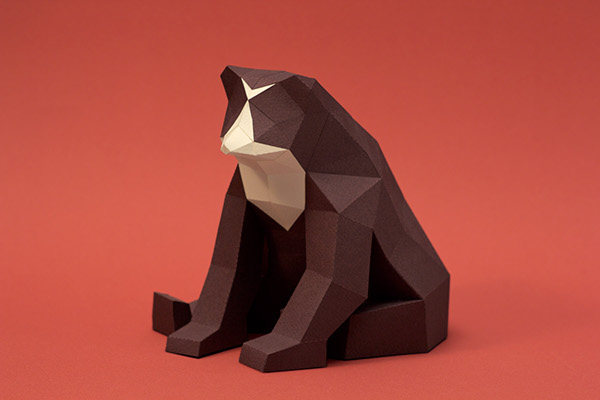 Paper mammals by Estudio Guardabosques AMS Design Blog_003