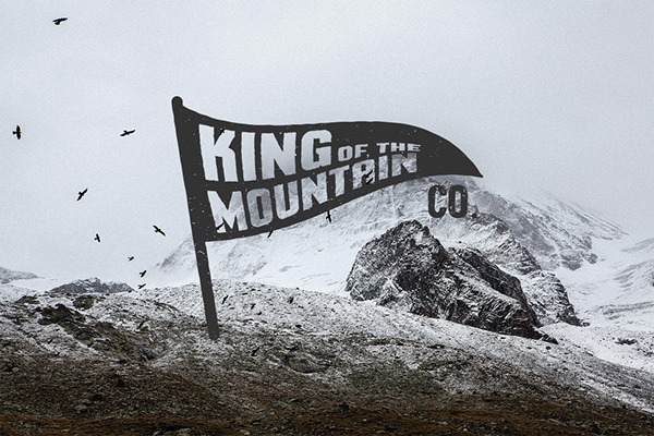 King of the Mountain Branding design on AMS Design Blog_001