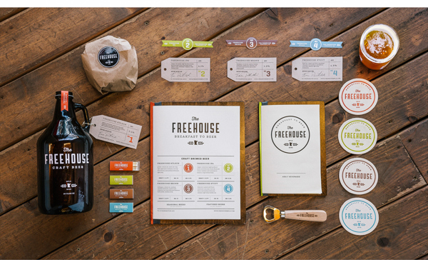 The Freehouse Branding design Anders Holine on AMS Design Blog_000